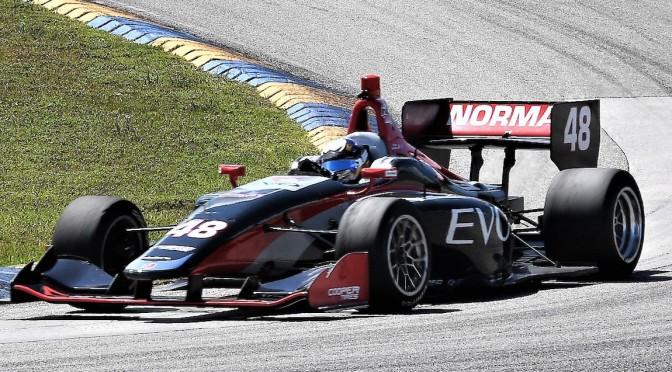 Norman encabeza Spring Training de Indy Lights