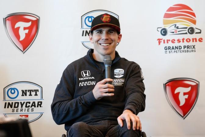 """Wickens: """"La meta es volver a un IndyCar"""""""