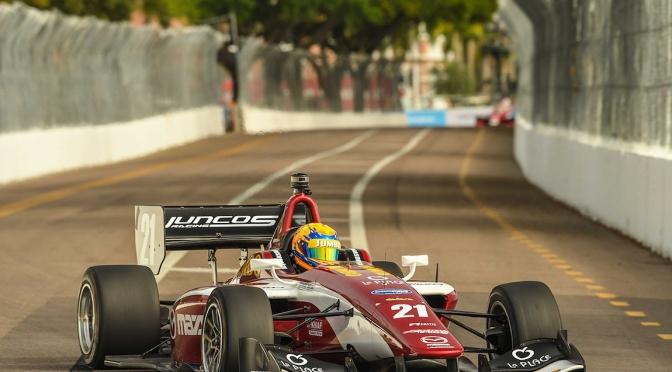Claman y VeeKay ganan en comienzo de Indy Lights