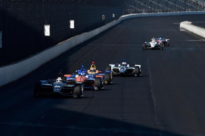 28 en la lista de participantes el Open Test en Indy