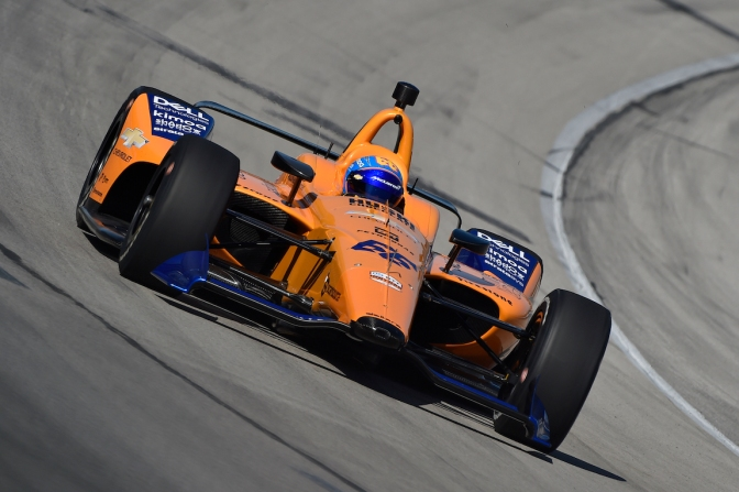 Alonso FOTO: Chris Owens/INDYCAR Photography)