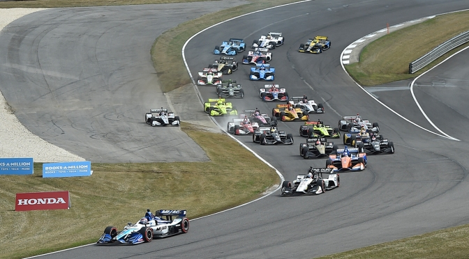 Alabama Start (FOTO; Chris Owens/INDYCAR Photography)