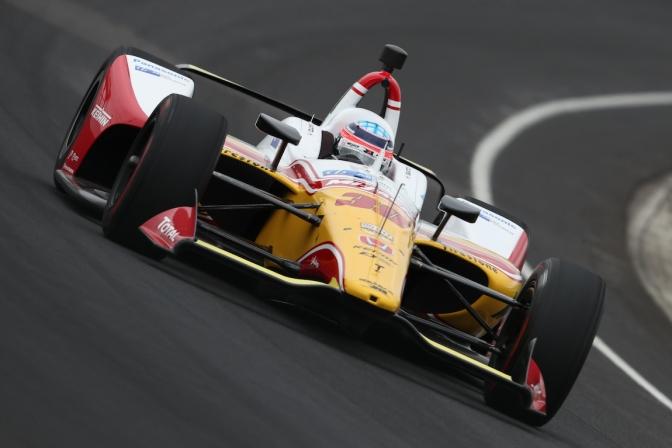 Sato y Herta lideran Open Test en Indy