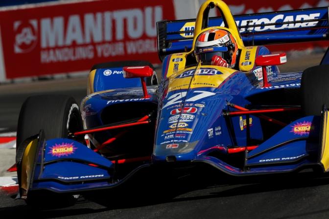 Dominio de Rossi por segunda vez en Long Beach