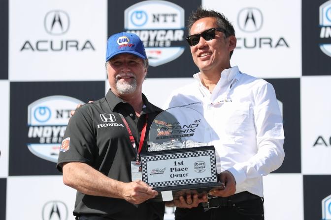 Andretti fue el tercer dueño en apoyar protección en Indy 500