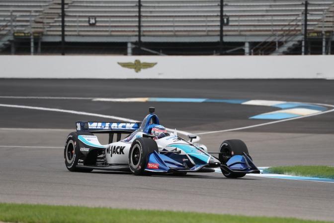 Sato, en posición cómoda rumbo al GP de Indy