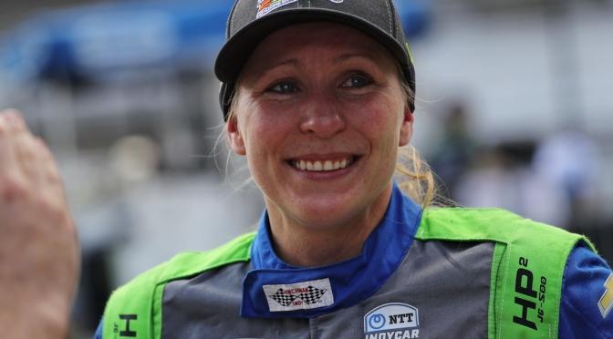 Mann, de regreso en la Indy 500