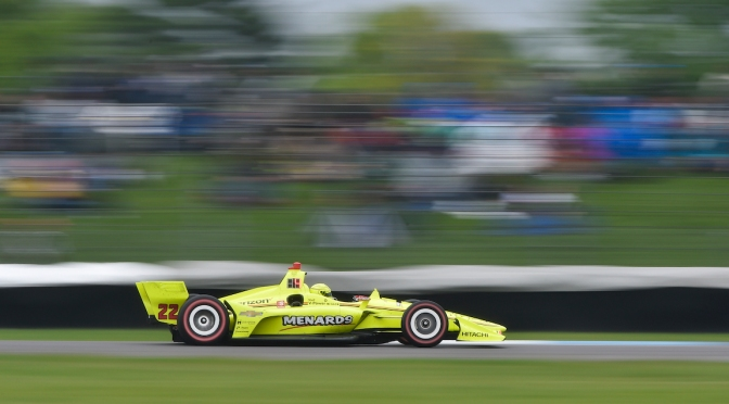 Pagenaud (FOTO: Chris Owens/INDYCAR Photography)