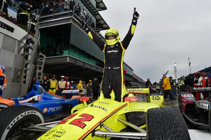 Pagenaud le robó a Dixon el GP de Indy
