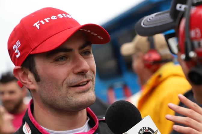 Primer podio de Harvey en la IndyCar