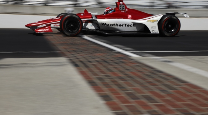 Ed Jones (FOTO: Matt Fraver/INDYCAR)