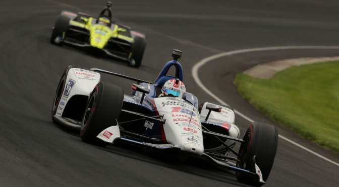 Rahal y Bourdais, sin fricciones tras accidente
