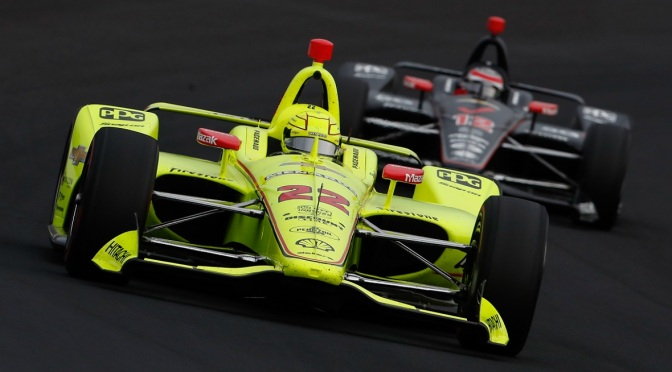 Pagenaud también encabezó la penúltima práctica en Indy
