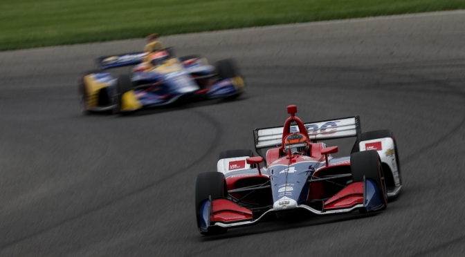 Leist (FOTO: Joe Skibinski/INDYCAR Photography)