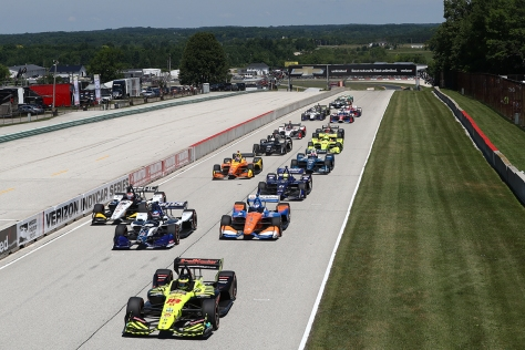Bourdais Road America (FOTO: Chris Jones/INDYCAR Photography)