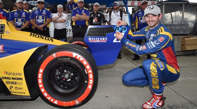 Segunda pole de Rossi en 2019