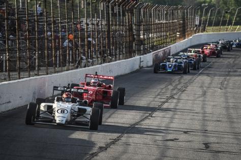 Eves es líder sólido en la USF2000 (FOTO: Road to Indy)