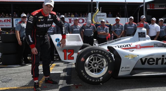 Power, a diez poles del récord de Andretti