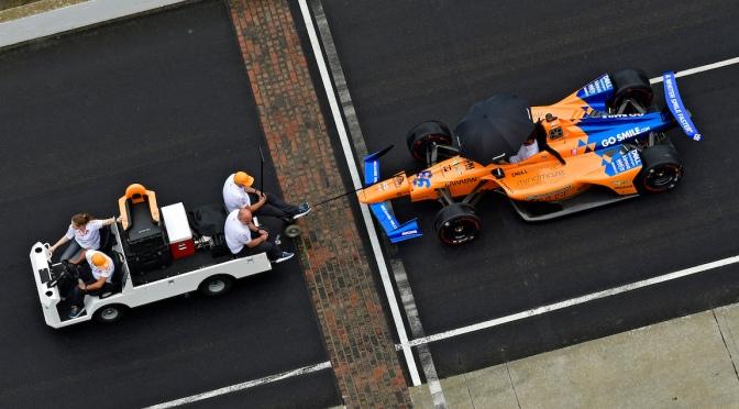 McLaren Alonso (FOTO: Walter Kuhn/INDYCAR)