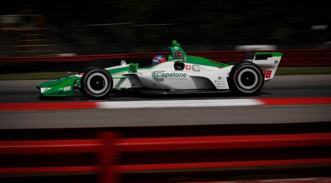 Herta lidera tercera práctica en Mid-Ohio