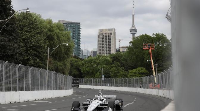 Suma Pagenaud segunda pole en Toronto