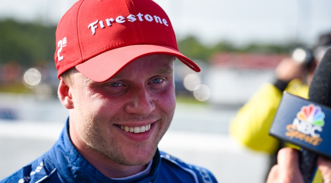Rosenqvist (FOTO: James Black/INDYCAR)