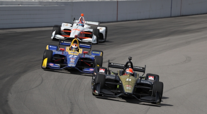 Hinchcliffe Rossi Herta (FOTO: Chris Jones/INDYCAR)