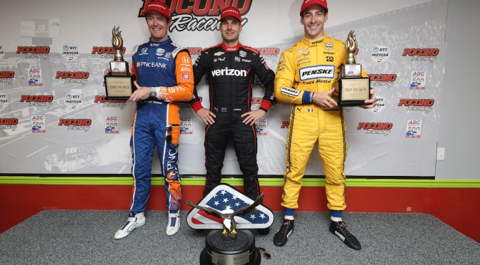 Power Dixon Pagenaud (FOTO: Chris Owens/INDYCAR)