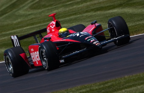 La última vez que un auto de Schmidt fue propulsado por Chevrolet fue en la Indy 500 de 2005 con Richie Hearn (FOTO: INDYCAR)