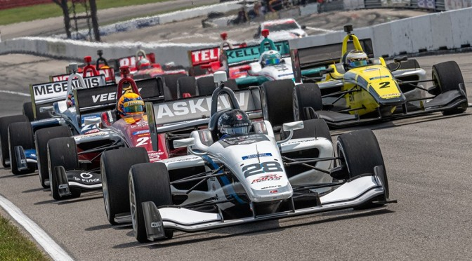 Askew y Lindh dirigen grupos de Road to Indy a Gateway