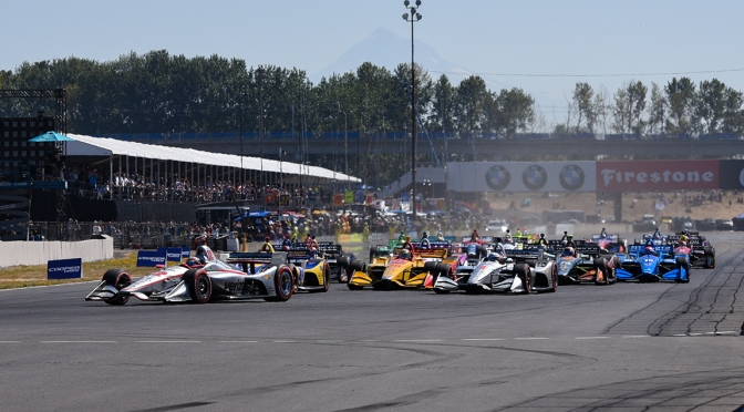 Portland (FOTO: James Black/INDYCAR)