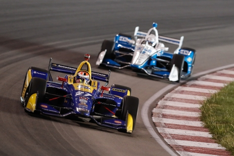 ¿Podrá Rossi destronar a la dupla de Penske? FOTO: Joe Skibinski/INDYCAR