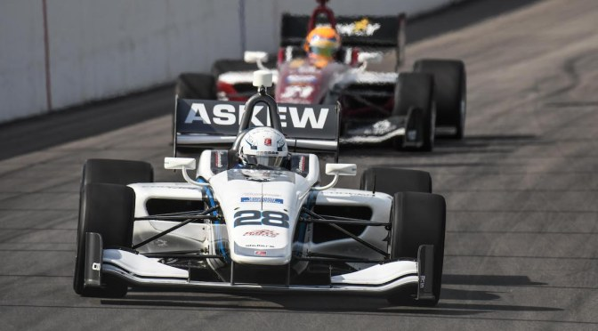 Askew, por la gloria en el Road to Indy