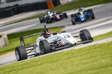 Eves ha liderado todo el campeonato de la USF2000 (FOTO: Road to Indy)
