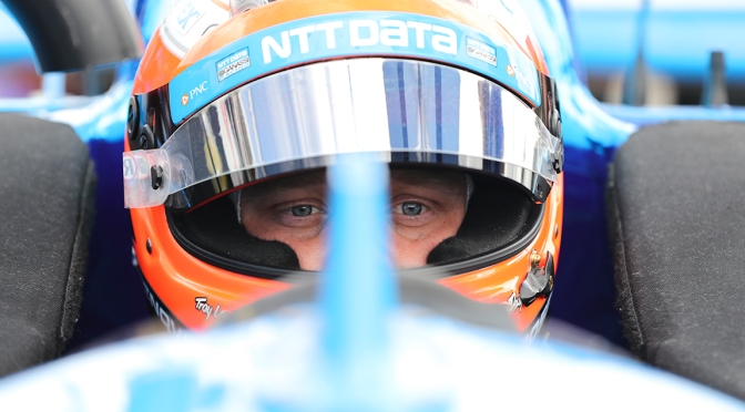 "Rosenqvist controla su destino en carrera por ""Novato del Año"""