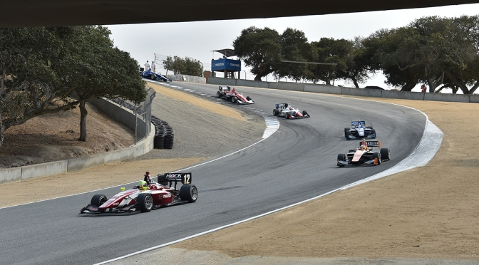 Series del Road to Indy cierran año en Monterey