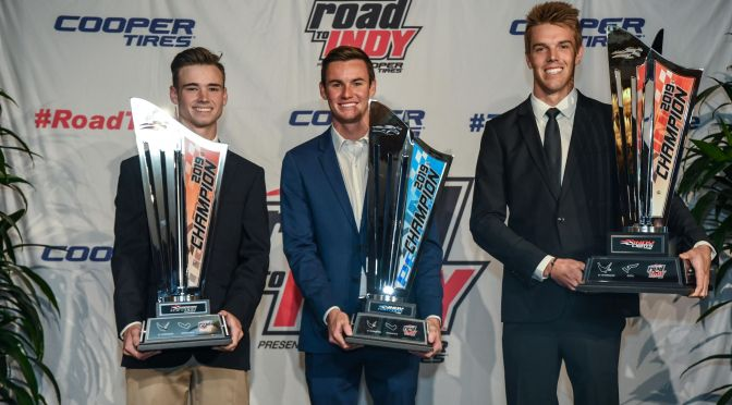 Se entregan premios del Road to Indy 2019