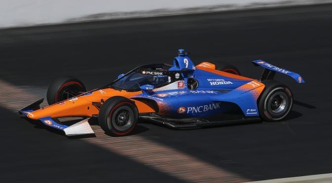 Se prueba el Aeroscreen en Indy