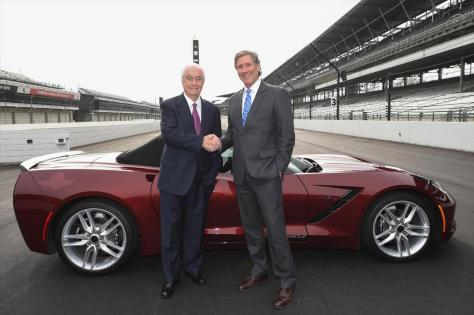 Roger Penske y Tony George (FOTO: Chris Owens/IMS)