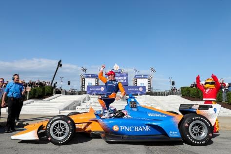Dixon es el ganador en activo más exitoso en Belle Isle (FOTO: Joe Skibinski/INDYCAR)