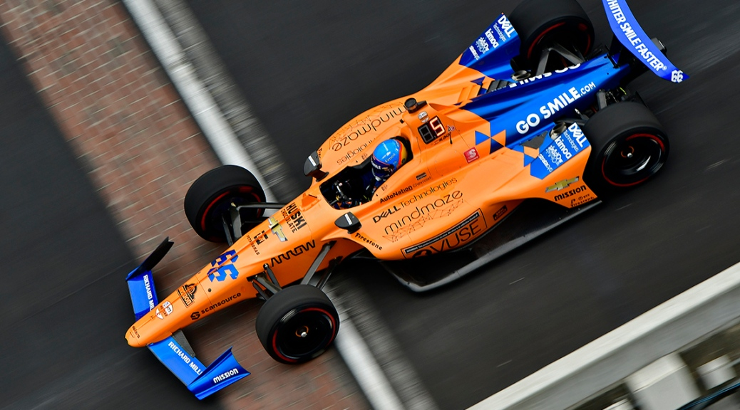 Alonso (FOTO: Walter Kuhn/Indianapolis Motor Speedway)