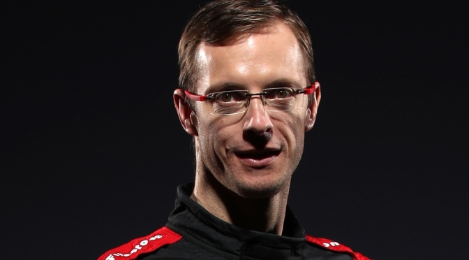 IndyCar Content Day Bourdais (FOTO: Chris Graythen/Getty Images for INDYCAR Media)
