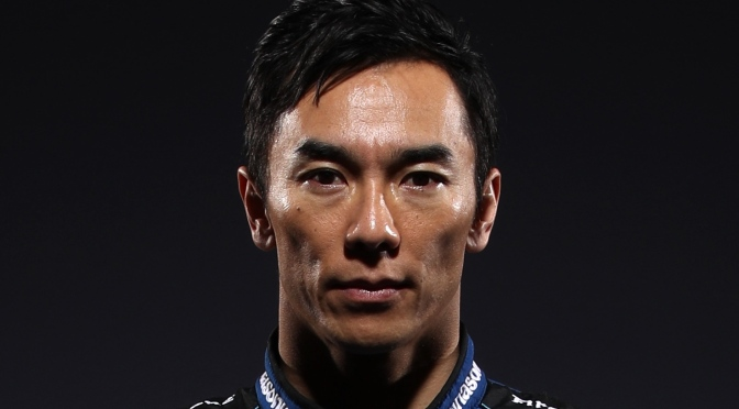 IndyCar Content Day Sato (FOTO: Chris Graythen/Getty Images for INDYCAR Media)