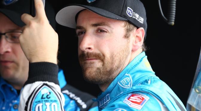 Hinchcliffe en 2014, cuando era miembro de tiempo completo dee Andretti (FOTO: Bret Kelley/INDYCAR)