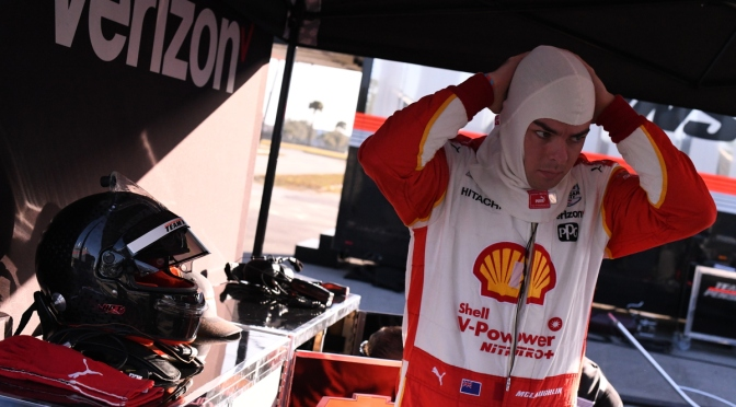 McLaughlin, listo para debut en IndyCar