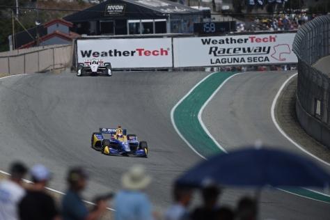 Rossi Laguna (FOTO: Chris Owens/INDYCAR)