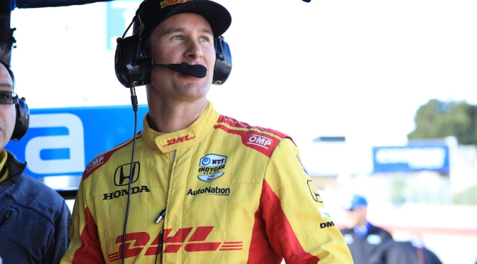 Hunter-Reay (FOTO: INDYCAR)