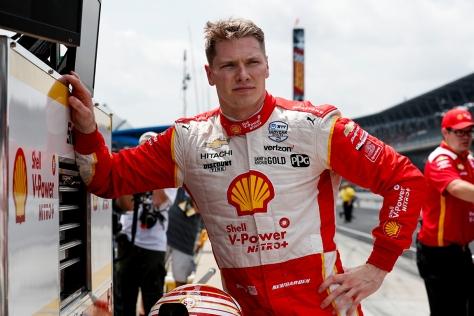 ¿Ganará Newgarden la Indy 500 en algún punto de su trayectoria? FOTO: Joe Skibinski/INDYCAR)