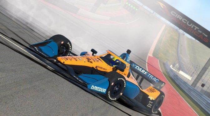 Norris gana en Austin (virtual); O'Ward sube al podio