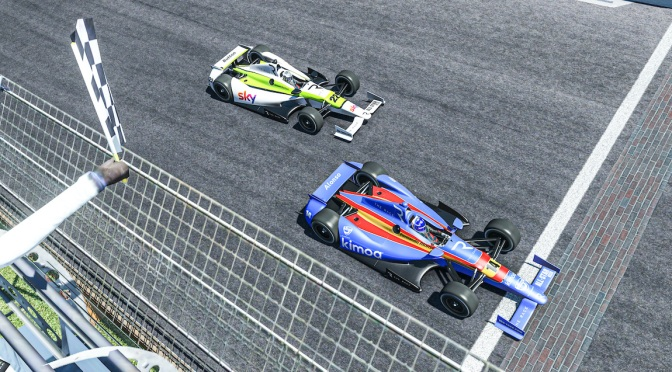 Alonso gana dos veces en Indianápolis (virtual)